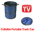 Pop-Up Collasible Portable Trash Can Compact Size