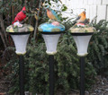 Outdoor Garden Solar Garden Decor Bird Light LED