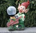 Outdoor Garden Decor Dwarf Crackle Ball Solar Light LED