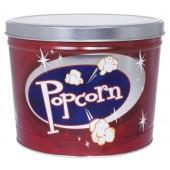 Retro Popcorn Tin