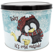 Baby it's Cold Popcorn Tin