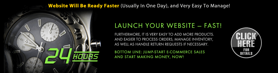 Launch Website Faster