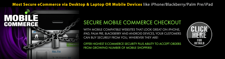 Mobile Commerce Enabled