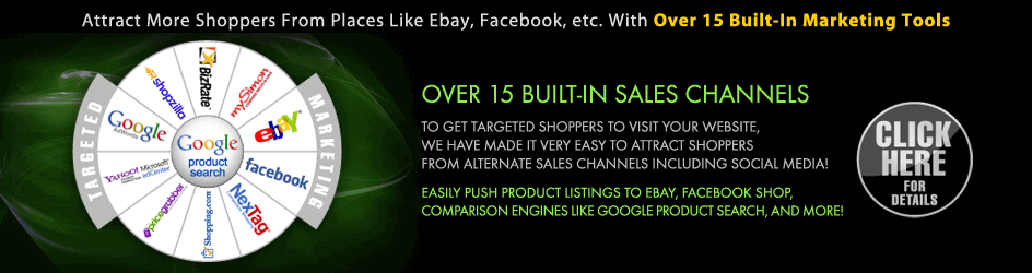 More Sales Channels