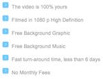 Custom Website Video Features