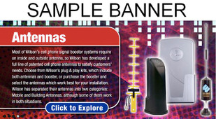 Custom Banner (Sample shown is a home page graphic design banner created for a client)