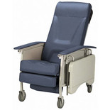 Deluxe Adult 3-Position Recliner, Blueridge from MyCareHomeMedical.com
