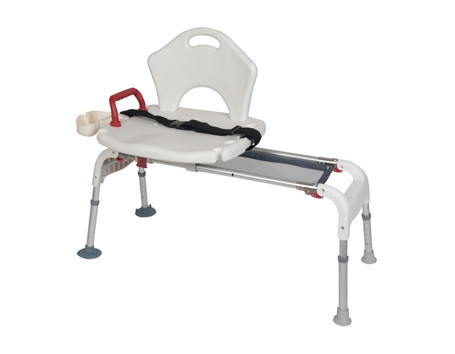 Transfer Bench With Sliding Seat & Folding Legs - rtl12075 | Free Shipping, Quick Delivery