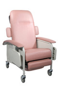 Clinical Care Rosewood Geri Chair Recliner - d577-r| Free Shipping, Quick Delivery