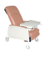 3 Position Heavy Duty Bariatric Rosewood Geri Chair Recliner - d574ew-r| Free Shipping, Quick Delivery