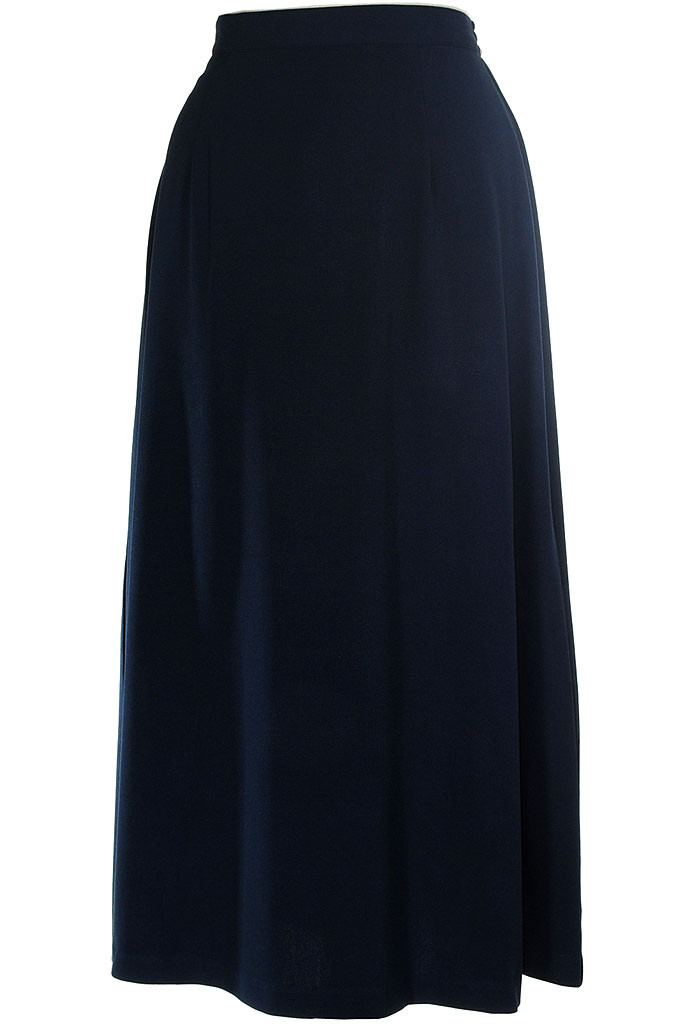 Long, modest skirt - Classic A-Line in navy