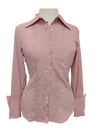 French Cuff Blouse in Pink