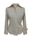 French Cuff Blouse in Vanilla