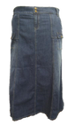 Appealing In Cargo Denim Skirt