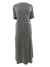 Shimmery skirt/top set, 1-size in gray