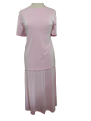 Shimmery skirt/top set, 1-size in pink