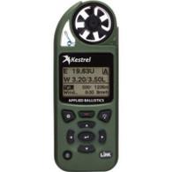 Kestrel 5700 Elite Weather Meter with Applied Ballistics and LiNK, Olive Drab