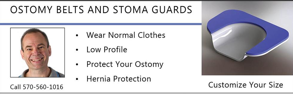 Stomaplex Ostomy Belts and Stoma Guards
