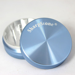 "SharpStone® Hard Top 2 Piece Herb Grinder - 2.2"" Blue"