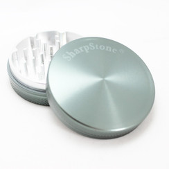 "Large SharpStone® Hard Top 2 Piece Grinder - 2.5"" Grey"