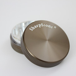 "SharpStone® Hard Top 2 Piece Herb Grinder - 2.2"" Green"
