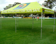 6m Pop Up Tent + Canopy