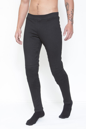 GoGo Gear Dual Layer Men's Kevlar Base Layer With Adjustable, Removable CE-Approved Knee Protectors (Level 1).