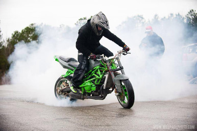 Pro Stunt Rider Wears GoGo Gear Armored Kevlar Hoodie To Keep Him Safe!
