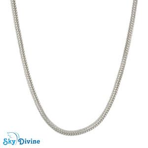 925 Sterling Genuine Silver Silver chain SDASC01a SkyDivine Jewelry