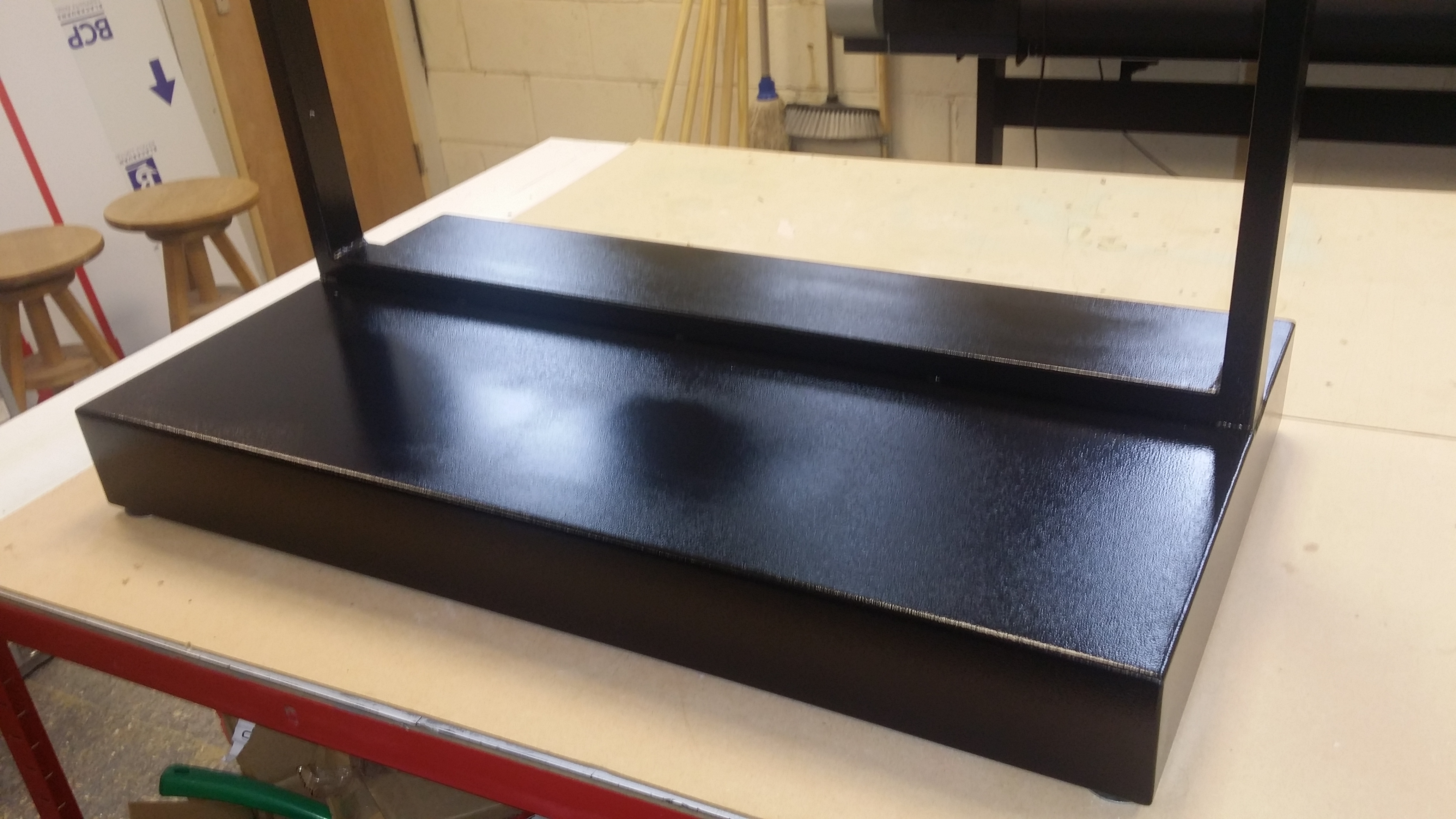 Tool shadow board free standing frame
