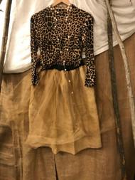 Paris Montana® original Burlap and shimmer tulle ballet skirt