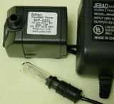 Jebao WP450L-I (118gph) w/TUBE Light (INDOOR)