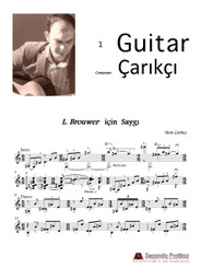 Homage to Leo Brouwer by Çarıkçı