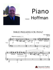 Three Preludes for Piano by Hoffman