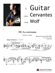 Escena 3: La cortesana (Lady in Waiting) by Cervantes/Wolf