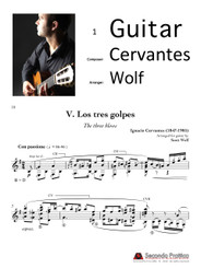 Escena 5: Los tres golpes (Three Knocks) by Cervantes/Wolf
