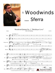 "Woodwind Quintet No. 1: ""Bricklayer Love"" by Sferra"