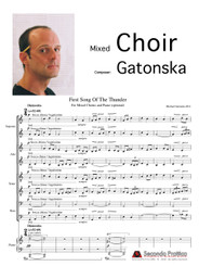 First Song of the Thunder by Gatonska