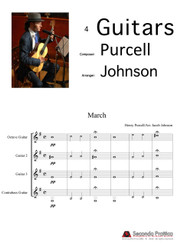 Music for the Funeral of Queen Mary by Purcell/Johnson