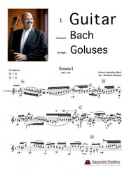 Sonata No. 1 in G minor, BWV 1001 Complete by Bach/Goluses