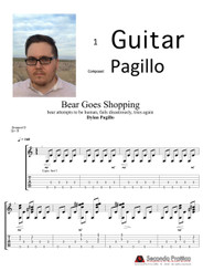 Bear Goes Shopping by Pagillo