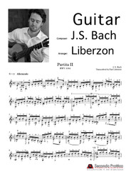Violin Partita No. 2 in D minor - 1 Allemande by Bach/Liberzon