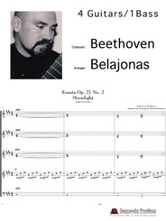 Moonlight Sonata Op.27 No. 2 by  Beethoven/Belajonas