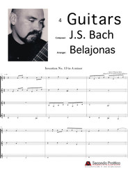 Invention 13 in A minor by Bach/Belajonas