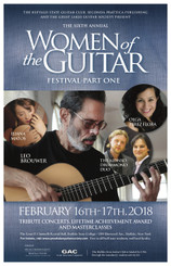 Leo Brouwer Talk - Women of the Guitar 6 - MId Hall