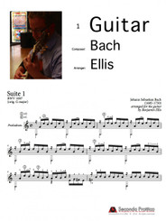 Suite No. 1 in G major, BWV 1007 - 1 Prelude by Bach/Ellis