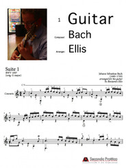 Suite No. 1 in G major, BWV 1007 - 3 Courante by Bach/Ellis