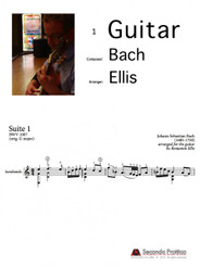 Suite No. 1 in G major, BWV 1007 - 4 Sarabande by Bach/Ellis
