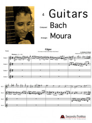 Partita I en La mineur from Hortus Musicus - Gigue by J.S. Bach/deMoura