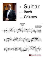 Sonata No. 2 in A minor, BWV 1003 - Complete by Bach/Goluses